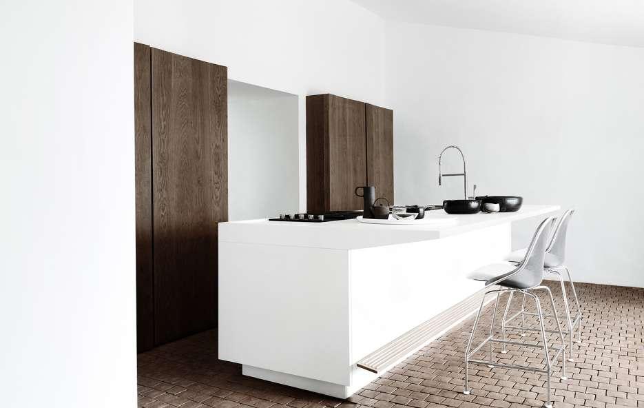 Cucina bianca di Boffi