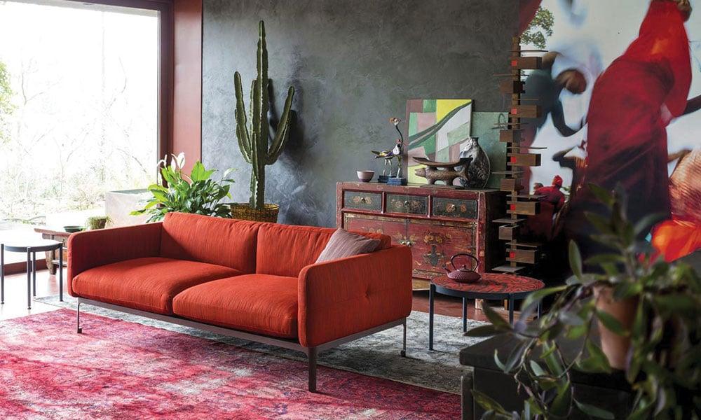soggiorno-divano-arancione-moroso