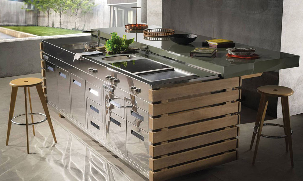 cucina outdoor alpes