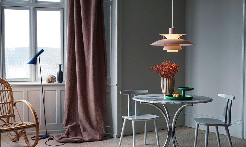 Illuminazione con lampade Louis Poulsen