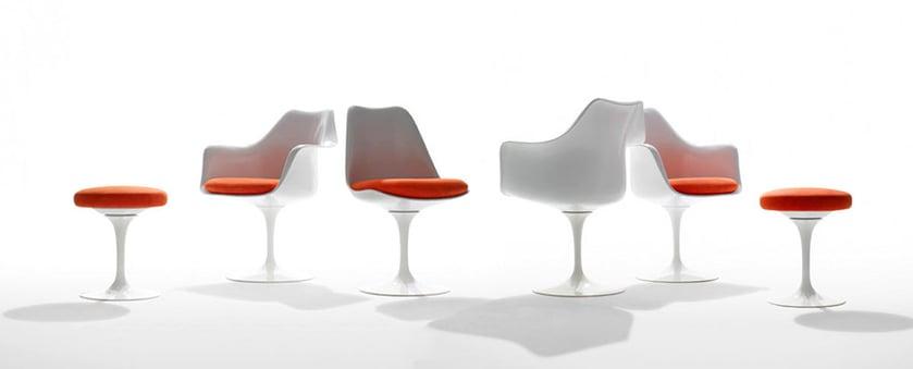 riedizioni di classici del design tulip knoll