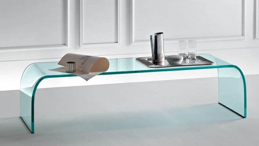 tavolino ponte fiam - vetro nel design contemporaneo