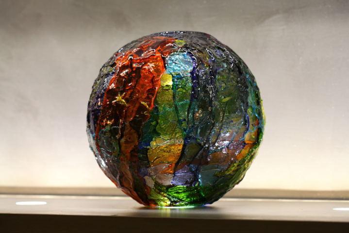 vaso geacolor venini - vetro nel design contemporaneo