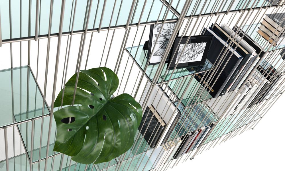 Una libreria Metrica di Mogg in stile Green