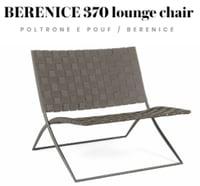Lounge Chair Berenice 370 di Roda