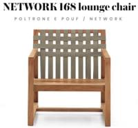 Lounge Chair Network 168 di Roda