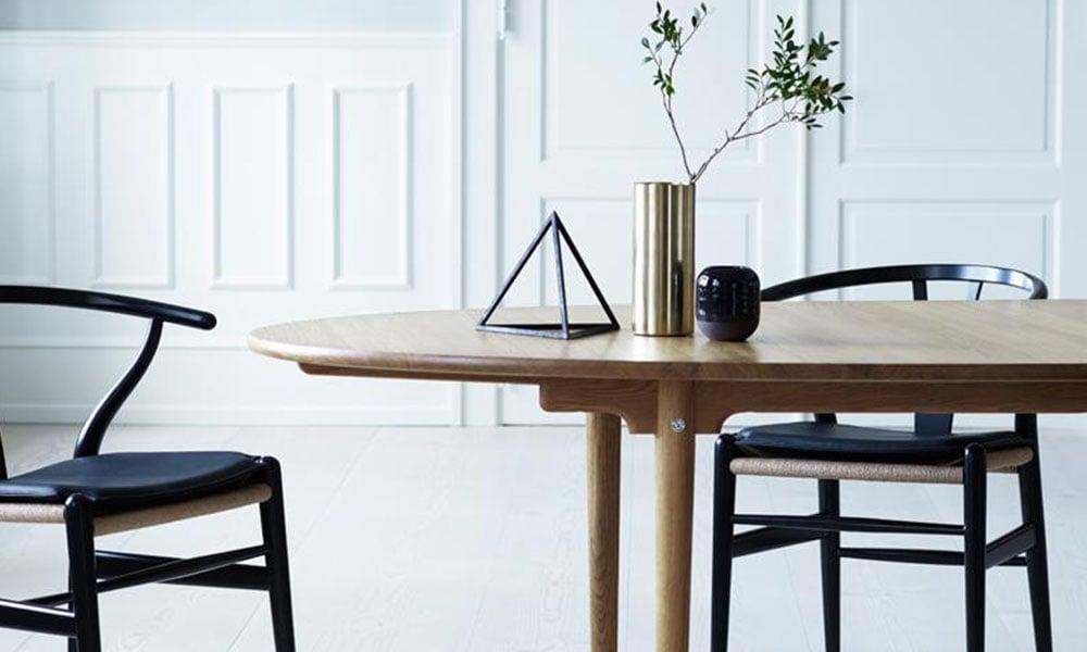 Lo stile nordico con elementi di Carl Hansen