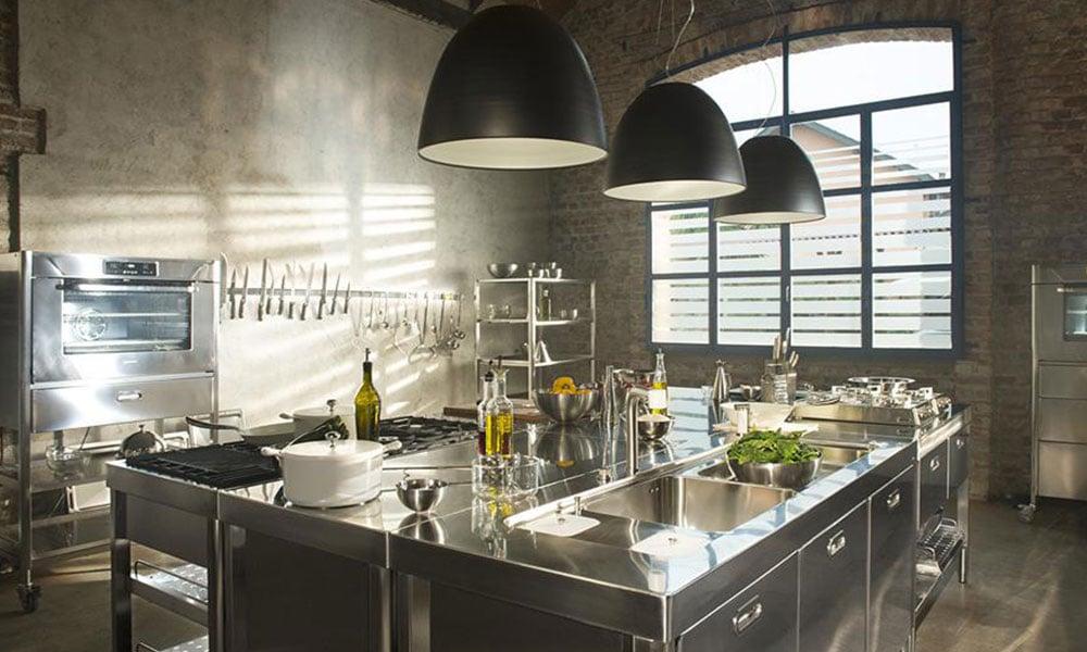 Una cucina Alpes