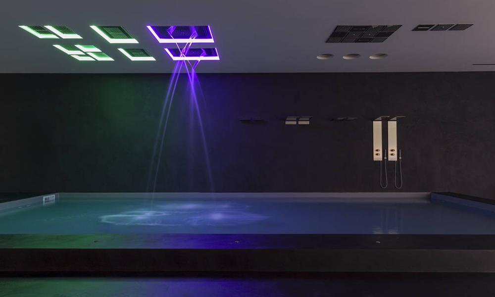 Un bagno diffuso ideato da Antoniolupi