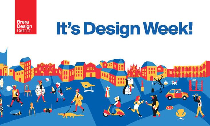 Locandina dell'evento Brera Design District di MIlano