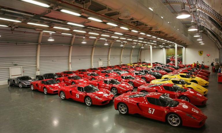 La collezione d'auto del Sultano del Brunei