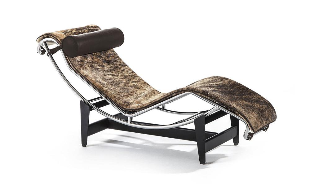 Edizione limitata Pampas della chaise longue LC4 di Cassina