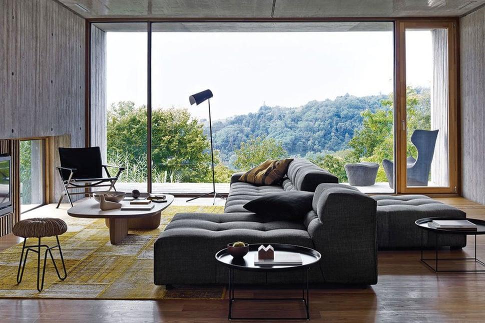 come-arredare-un-soggiorno-con-divani-colore-grigio-dal-pozzo-1