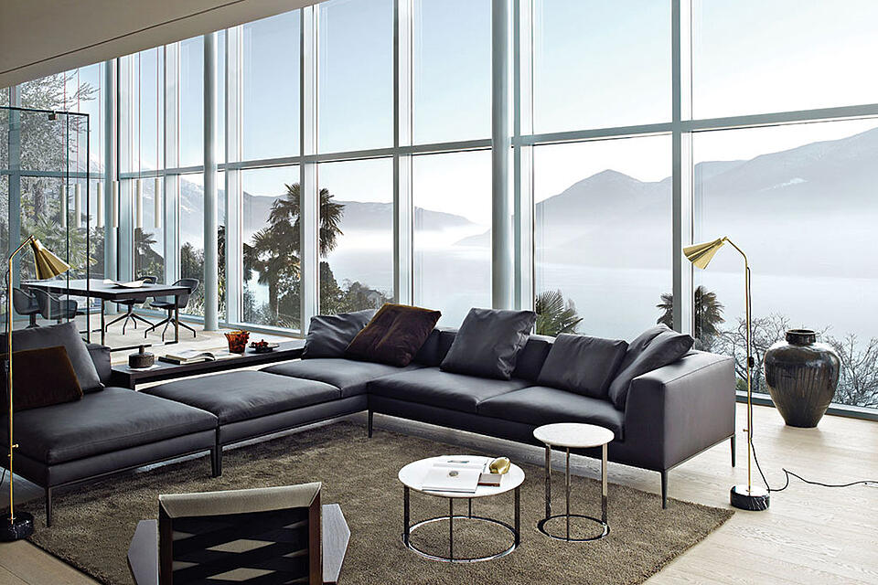 come-arredare-un-soggiorno-con-divani-colore-grigio-dal-pozzo-2
