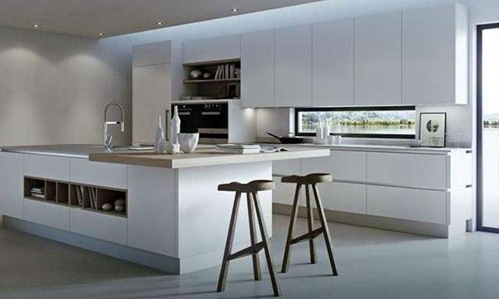 cucina bianca moderna laccata