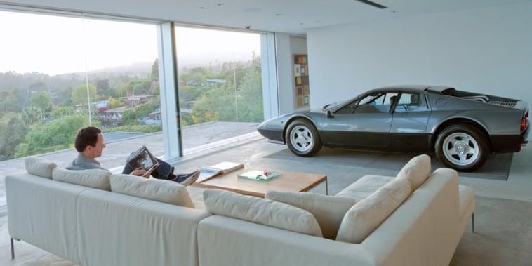 Una Ferrari in salotto