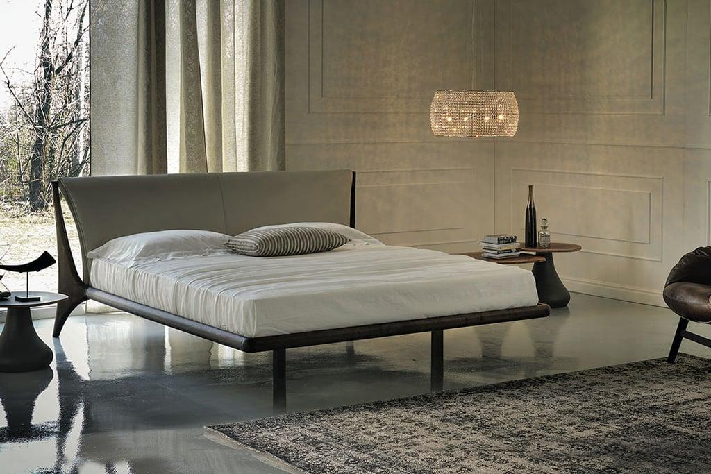 letto nelson cattelan italia con struttura in legno