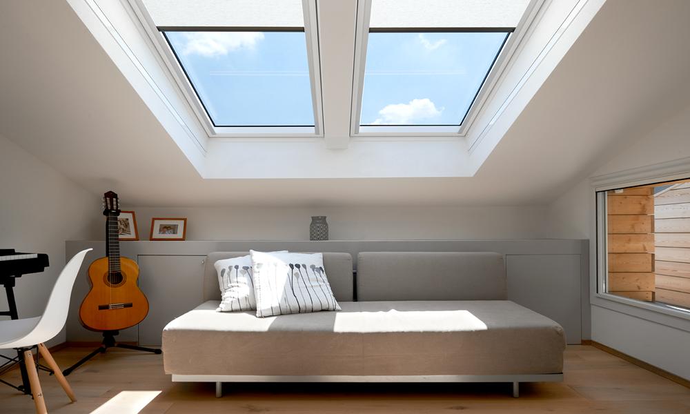 La luce naturale in una stanza senza lampade