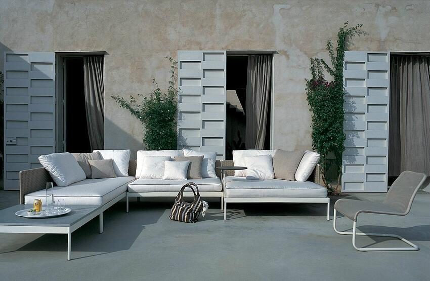 mobili da giardino roda