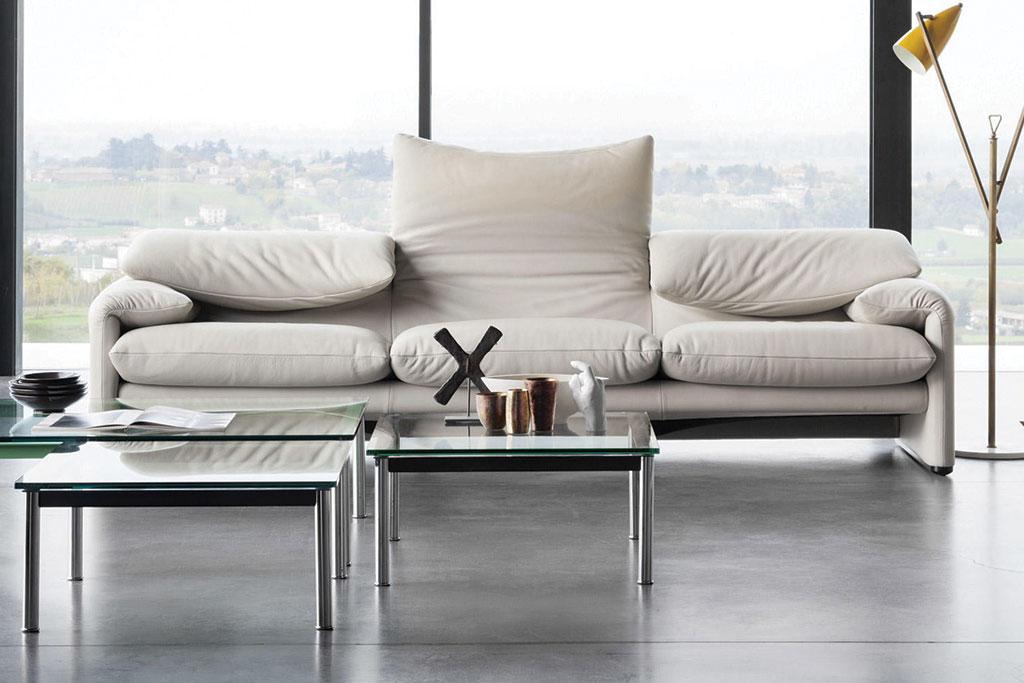 Come abbinare mobili antichi ad un arredamento contemporaneo cassina - Divano letto cassina ...