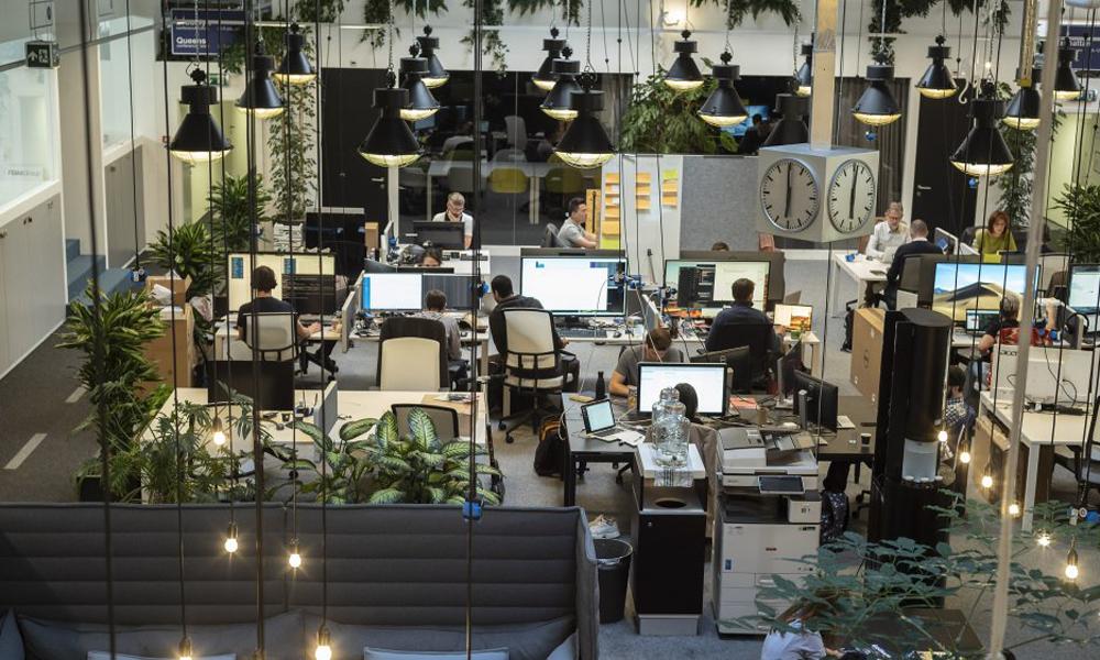 Un ambiente di lavoro