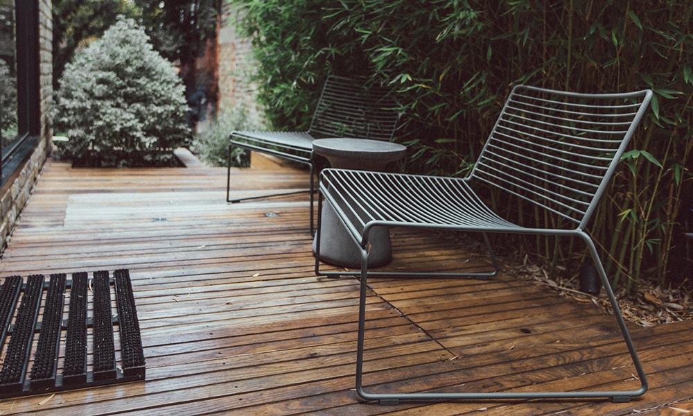 Sedia Hee Lounge Chair di Hay